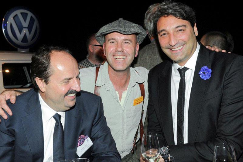 mit Johann Lafer und Mousse T.